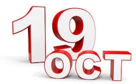 19 Oct